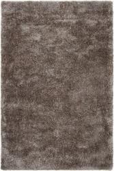 Hand-woven Lovington Brown Super Soft Shag Rug (5' x 8')