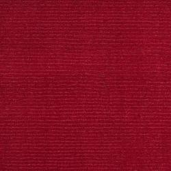 Hand-crafted Red Solid Casual Wool Osage Rug (8' x 11') - Thumbnail 2