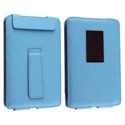 Blue Leather Case with Stand for Barnes & Noble Nook Color - Thumbnail 1