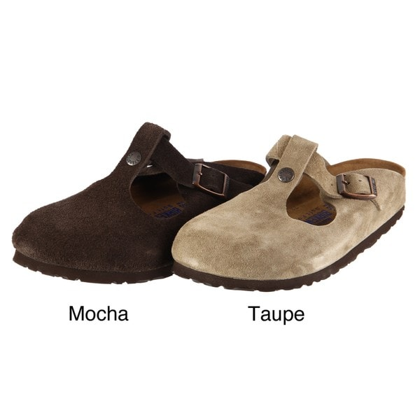 Birkenstock Women's 'Bern' Mocha Leather Clogs