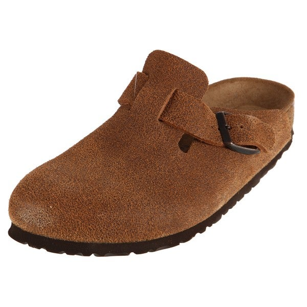 Birkenstock Mens Boston Sumatra Leather Clogs Free Shipping