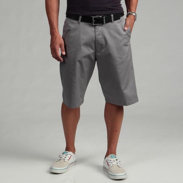 Burnside Men's Light Grey Chino Shorts - Free Shipping On Orders ...