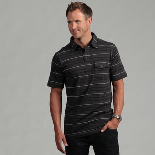 Burnside Men's Charcoal Polo Shirt