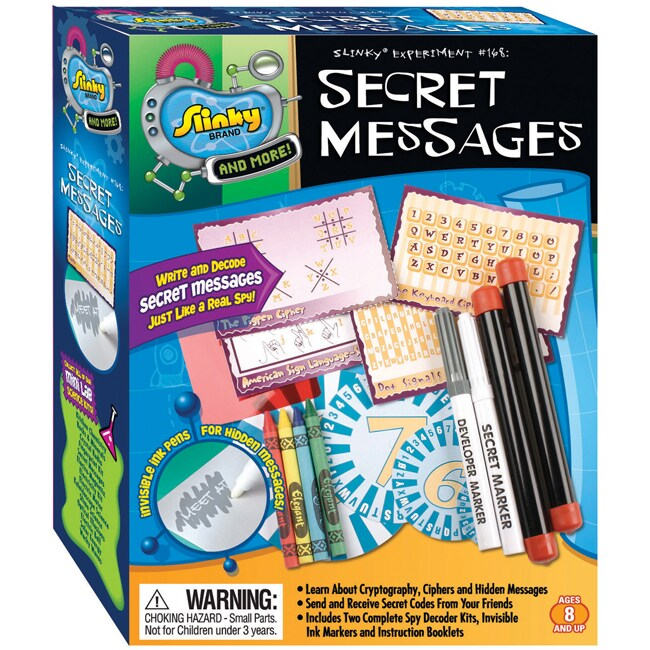 Poof-Slinky Secret Messages Science Kit - Thumbnail 0