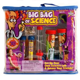 Be Amazing Toys/Steve Spangler Big Bag of Science Kit
