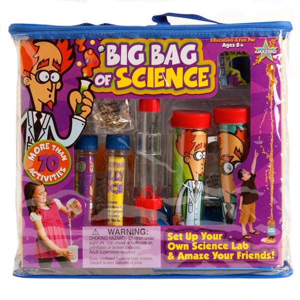 Be Amazing Toys Steve Spangler Big Bag of Science Kit