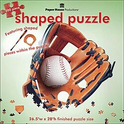 Paper House 'Baseball Glove II' Jigsaw Puzzle (500-piece)