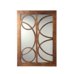 Lacey 28-Inch Antique Bronze Finish Large Mirror