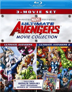 Ultimate Avengers Movie Collection (Blu-ray Disc)