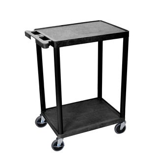 Luxor 2-shelf Heavy Duty Utility Cart