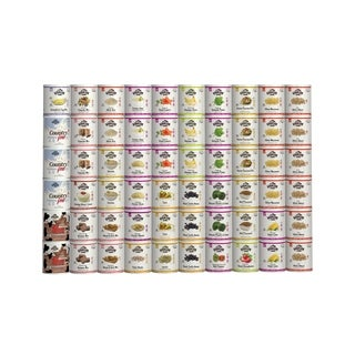 Augason Farms 1-person 6-month 60 #10 Cans, 2,822 Serving Emergency Food Supply