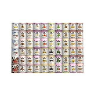 Augason Farms 6-Month Emergency Food Supply (1 Person), 60 No. 10 Cans, 2,822 Servings