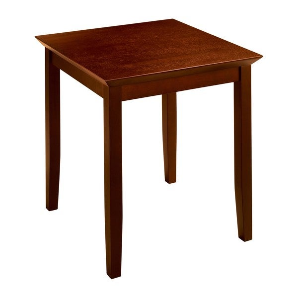 Safco Wood Veneer/Solid Wood Square End Table (19' x 19' x 20')