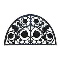 Rubber-Cal 'Irish Garden' Rubber Cast Iron Door Mat (18 x 30)
