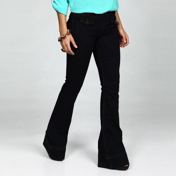 David Kahn Jeans Women's Laura Wide Leg Jeans