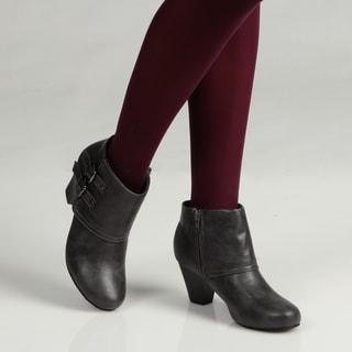 Sam & Libby Women's 'Burnett' Buckle Boots