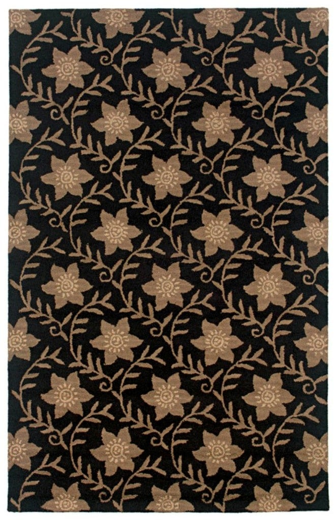 Rizzy Home Country Collection Hand-tufted New Zealand Wool Blend Accent Rug (5' x 8')