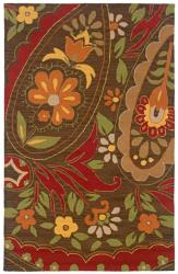 Rizzy Home Country Collection Hand-tufted New Zealand Wool Blend Accent Rug (5' x 8') - 5' x 8' - Thumbnail 0
