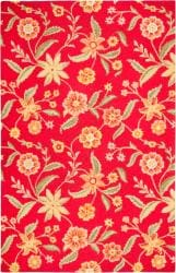 Hand-tufted Sovereignty Red Rug (5' x 8')