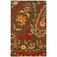 Rizzy Home Country Collection Hand-tufted New Zealand Wool Blend Accent Rug - 8'