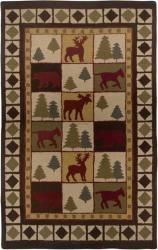 Hand-tufted Sovereignty Brown Rug (8' x 8' Round)