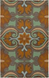 Rizzy Home Country Collection Hand-Tufted New Zealand Wool Blend Accent Rug ( 8' Round)