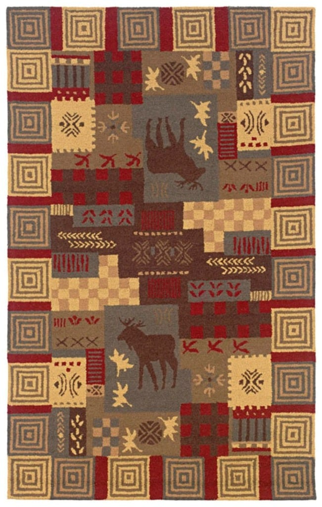 Rizzy Home Country Collection Hand-tufted Multi-colored Area Rug (8' x 10') - multi