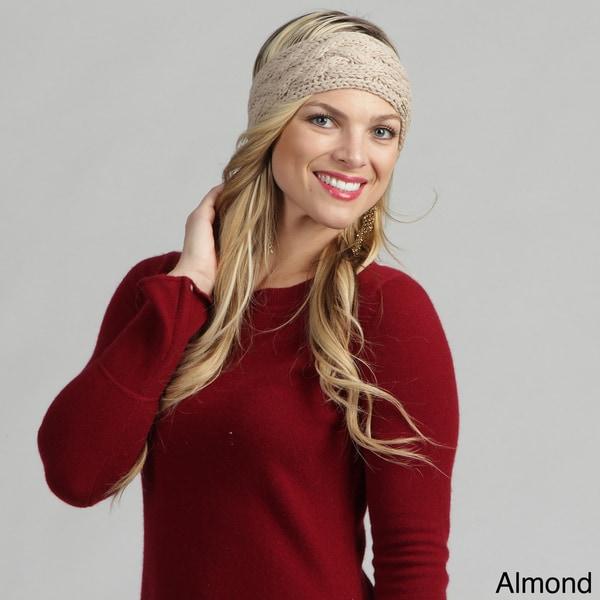 Calvin Klein Women's Handknit Cable Headband