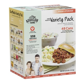 Augason Farms Month-Long Food Storage Pack (21 Products)