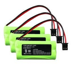 INSTEN Compatible Ni-MH Battery for Uniden BT-1008 Cordless Phone (Pack of 3)|https://ak1.ostkcdn.com/images/products/6514501/78/929/Compatible-Ni-MH-Battery-for-Uniden-BT-1008-Cordless-Phone-Pack-of-3-P14101607.jpg?impolicy=medium