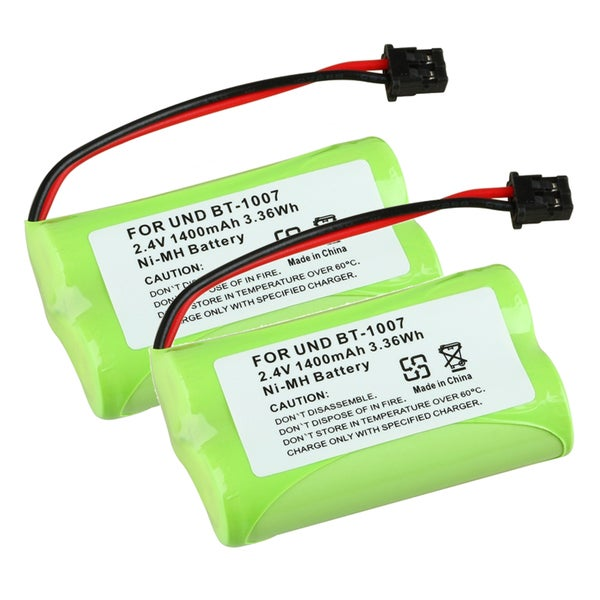 INSTEN Compatible Ni-MH Battery for Uniden BT-1007 Cordless Phone (Pack of 2)