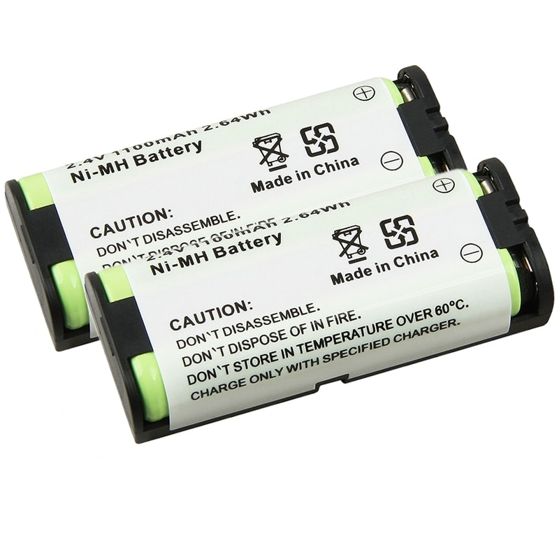 Insten Compatible Ni-MH Battery for Panasonic HHR-P105 Ph...