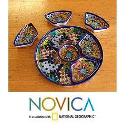 Hand-crafted Ceramic 'Festive Feast' 7-piece Appetizer Set (Mexico)|https://ak1.ostkcdn.com/images/products/6514538/PCI/78/976/Hand-crafted-Ceramic-Festive-Feast-7-piece-Appetizer-Set-Mexico-P78976679.jpg?impolicy=medium