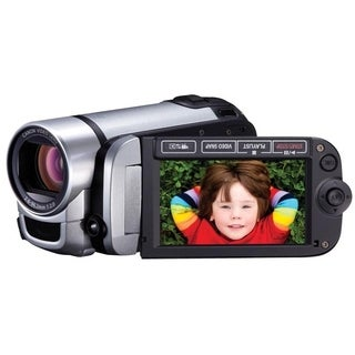 "Canon FS400 Digital Camcorder - 2.7"" LCD - CCD - SD - Silver"