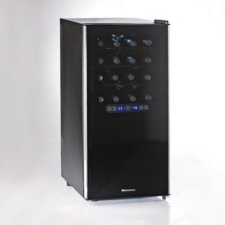 Wine Enthusiast Silent 32 Bottle Dual Zone Touchscreen Wine Cooler