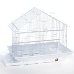 Prevue Pet Products White Clean Life House Cage