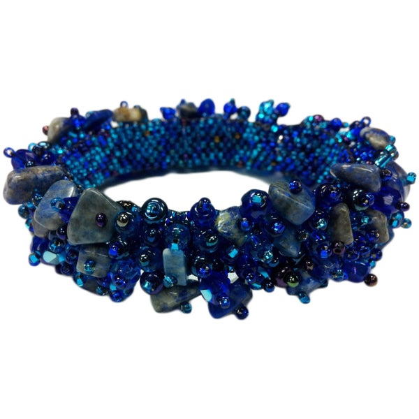 Capullo Beaded Gemstone Bracelet (Guatemala)