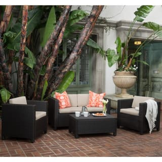 Puerta Outdoor 4 Piece Sofa Set By Christopher Knight Home 5 Options Available