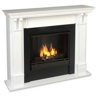 Real Flame Ashley Gel Fuel Fireplace White