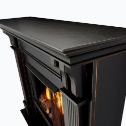 Real Flame Blackwash Ashley 48.03 in. L x 13.78 W x 41.25 in. H Gel Fireplace - Thumbnail 1