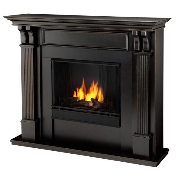 Real Flame Blackwash Ashley Gel Fireplace