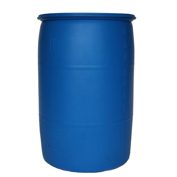 Augason Farms 55 Gallon Plastic Emergency Water Storage Barrel Kit Blue Free Shipping Today 14105417