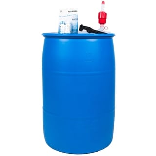 Augason Farms 55- Gallon Emergency Water Storage Supply Kit - Blue