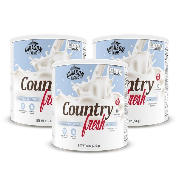 Augason Farms Country Fresh 100-percent Real Instant Nonfat Dry Milk