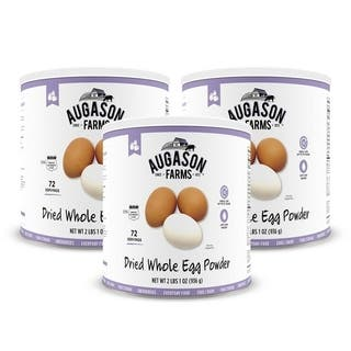 Augason Farms Dried Whole Egg 33 oz No. 10 Can|https://ak1.ostkcdn.com/images/products/6519085/P14105425.jpg?impolicy=medium