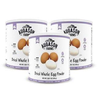 Augason Farms Dried Whole Egg 33 oz No. 10 Can (2 options available)
