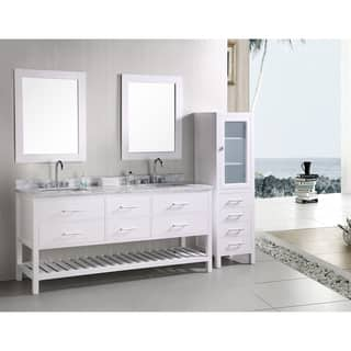 vanity bathroom double sink. Design Element London 72 inch Double Sink Bathroom Vanity Set Size Vanities  Cabinets For Less