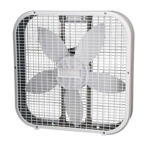 Holmes HBF2010A-WM White 20-inch Box Fan