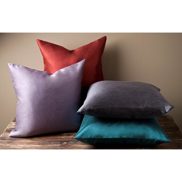 Chic 22-inch Square Decorative Pillow