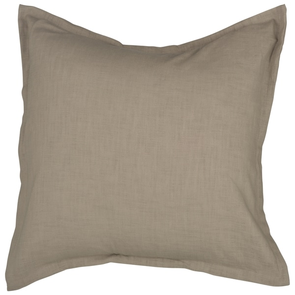 Chic 22-inch Square Knife-edge Decorative Down-filled Accent Pillow